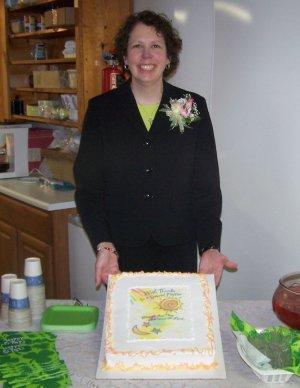Pastor Jo Kandel cake