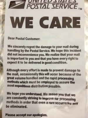 we care USPS