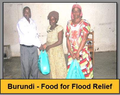 Burundi flood relief