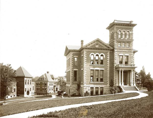 Kenyon Hall at Alfred University