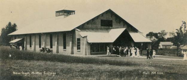 New Gym Milton College